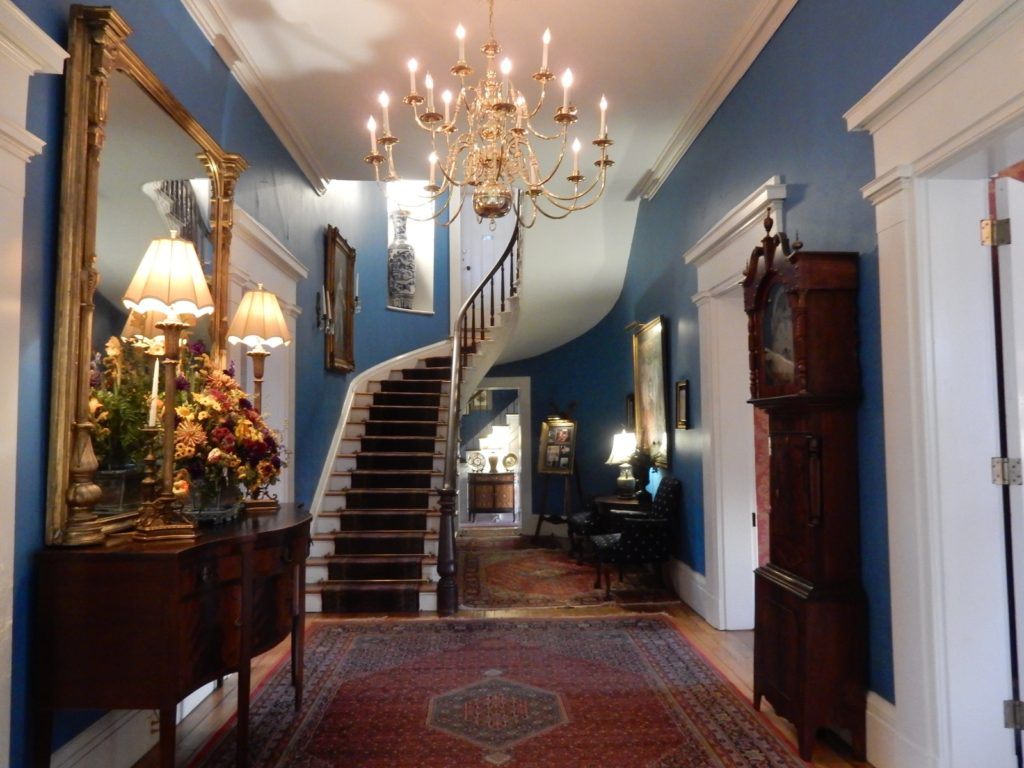 Entry foyer, Antrim 1844, Taneytown MD