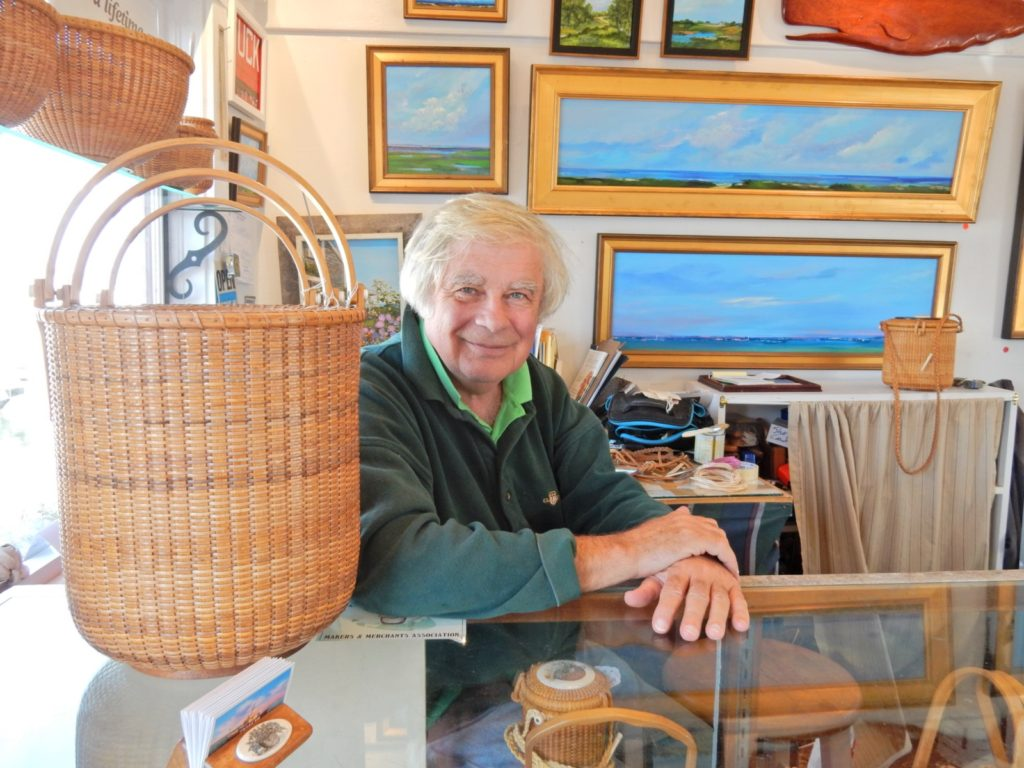 G.L. Brown Basket Maker Nantucket MA