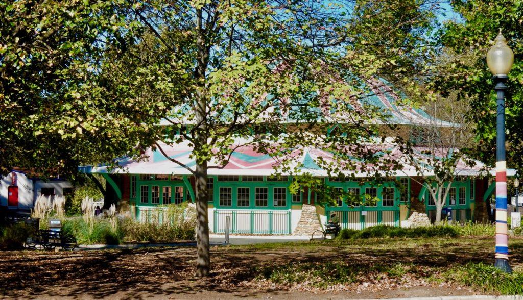1921 Dentzel Carousel, Glen Echo Park Mongtgomery County MD