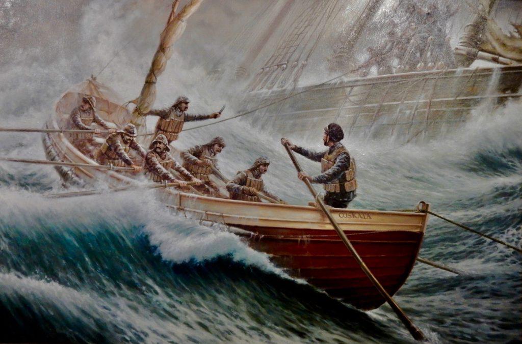 Heroic Maritime Lifesavers, Shipwreck and Lifesaving Museum Nantucket MA