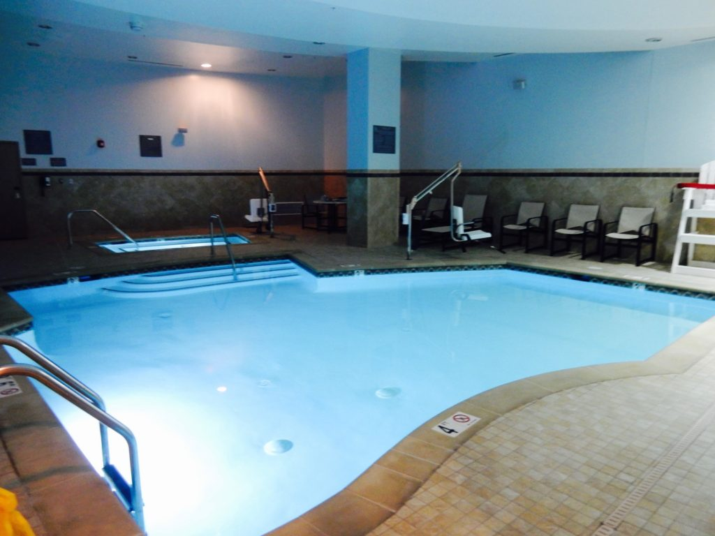 Indoor Pool Cambria Hotel Rockville MD