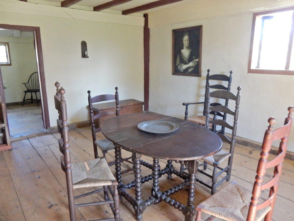 Interior Jethro Coffin House Nantucket MA
