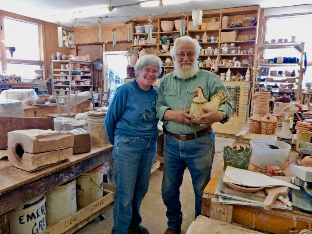 Ken and Marty Hankins, Shiloh Pottery, Hampstead MD