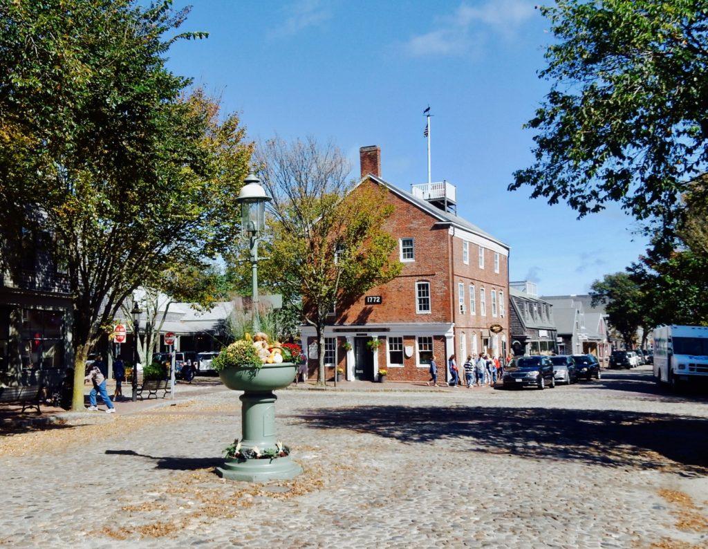 Nantucket Cobblestone Streets