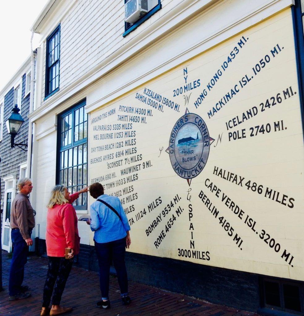 Nantucket Distance Sign