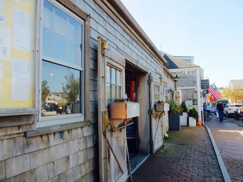 Just Off the Wharves, in Nantucket MA