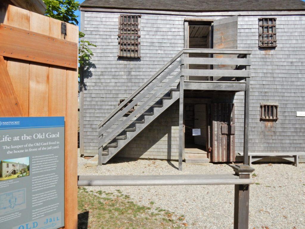Old Gaol Nantucket MA