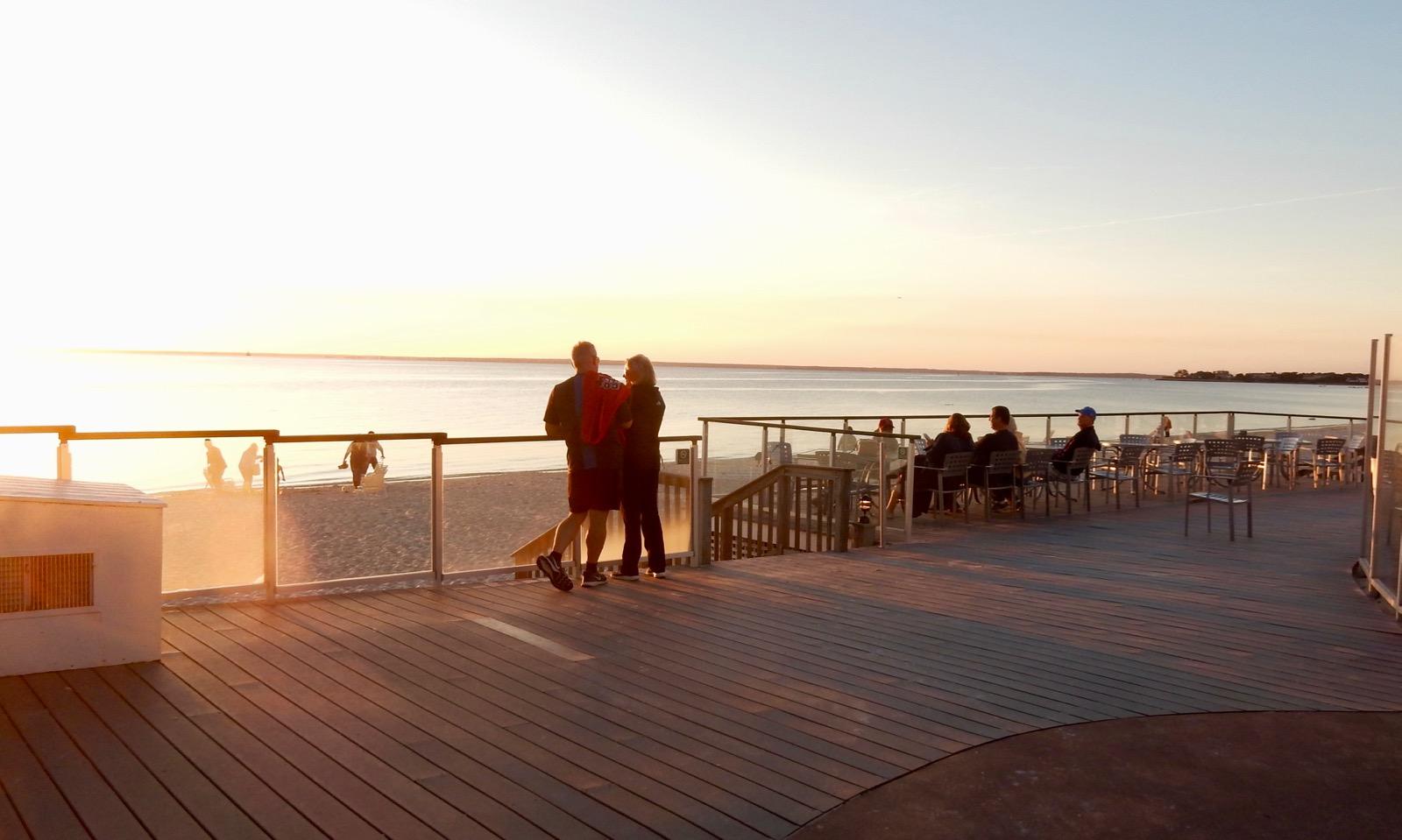 Romantic Sunset Sea Crest Beach Hotel Falmouth MA