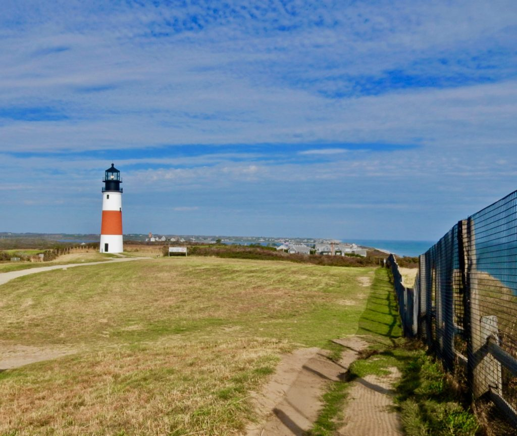 Sankaty Lighthouse and Bluffs Nantucket MA