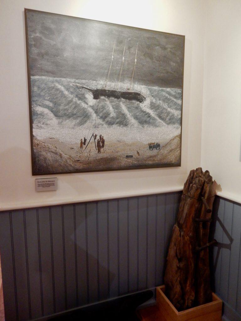 Schooner Witherspoon, Shipwreck Lifesaving Museum Nantucket MA