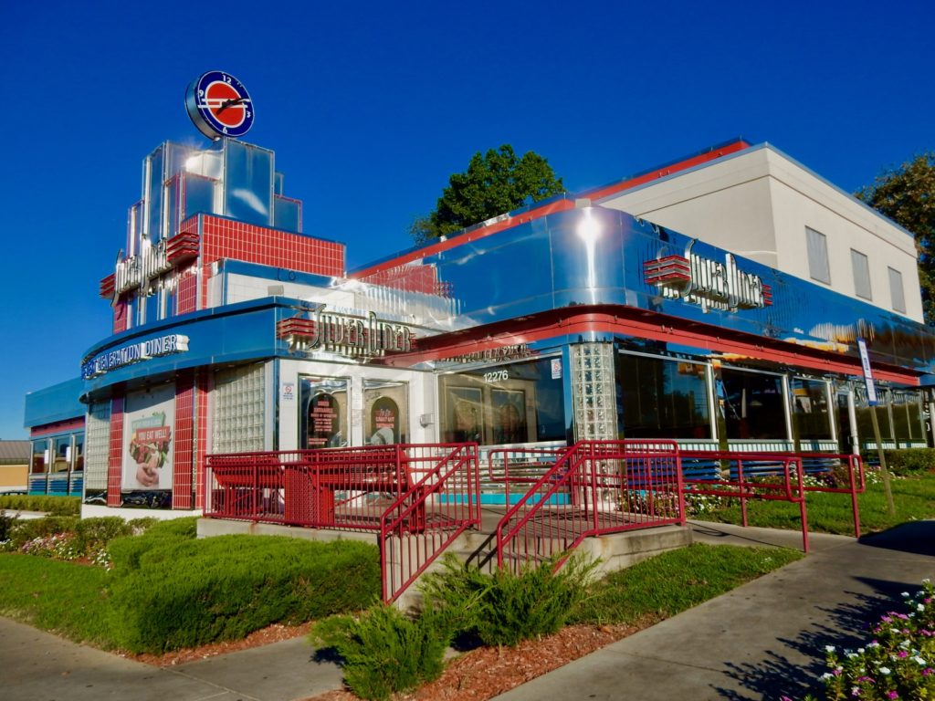 Exterior Silver Diner Rockville MD