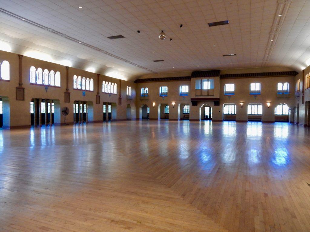 Empty Spanish Ballroom Glen Echo Park - Montgomery County MD