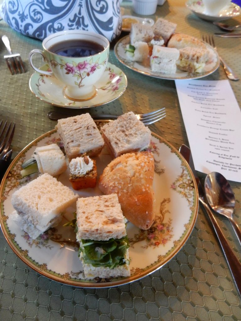 Tea, sandwiches, and treats at High Tea - Strathmore Mansion - Bethesda MD