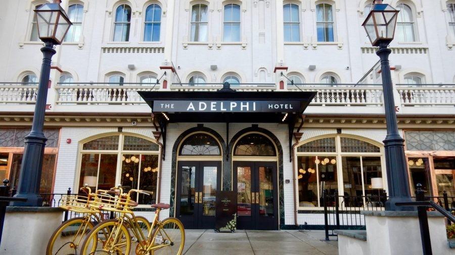 Adelphi Hotel, Saratoga Springs NY: Historic-Chic
