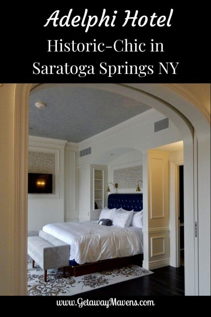 Adelphi Hotel Saratoga Springs Pin