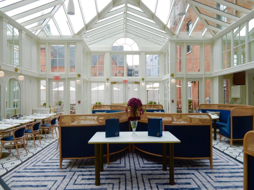 Blue Hen Restaurant at Adelphi Hotel Saratoga NY