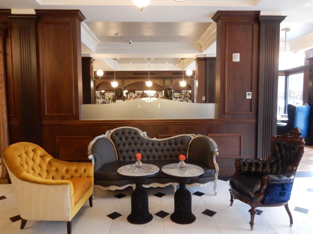 Adelphi Hotel Saratoga Springs NY Lobby