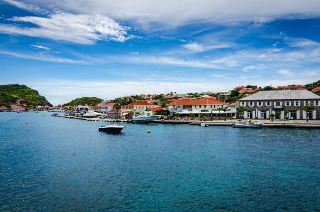 Harbor in Gustavia, Saint Barthélemy