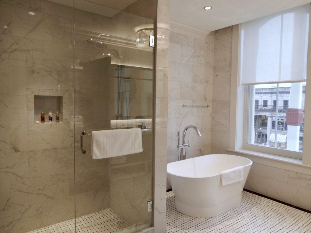 Marble Bathroom Adelphi Hotel Saratoga Springs NY