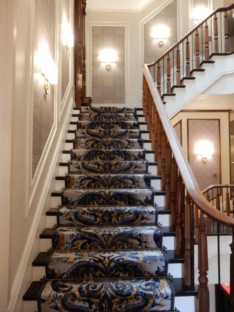 Original handrails Adelphi Hotel Saratoga Springs NY
