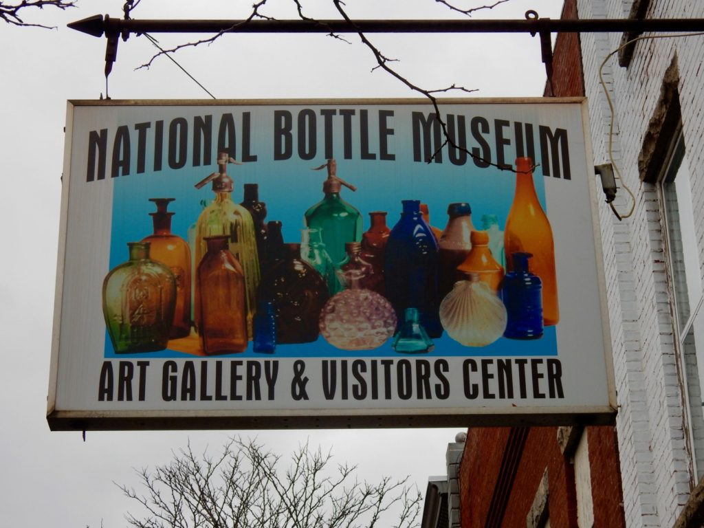 Sign National Bottle Museum Ballston Spa NY