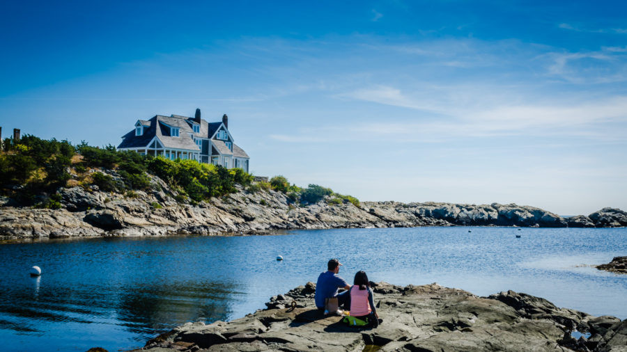 Picnic by the Seashore - Newport, Rhode Island