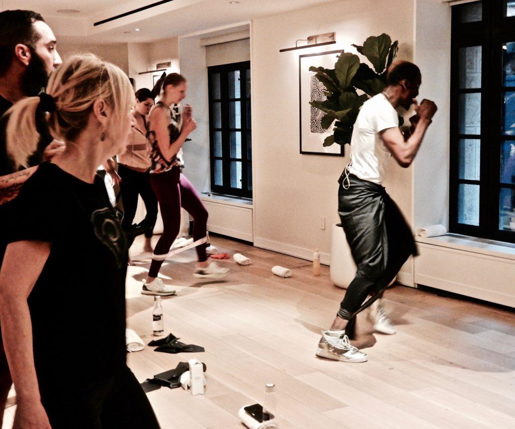Aeroscape Workout Four Bodies Wellness James NoMad NY