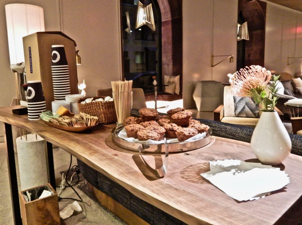 Coffee Muffins James NoMad NY