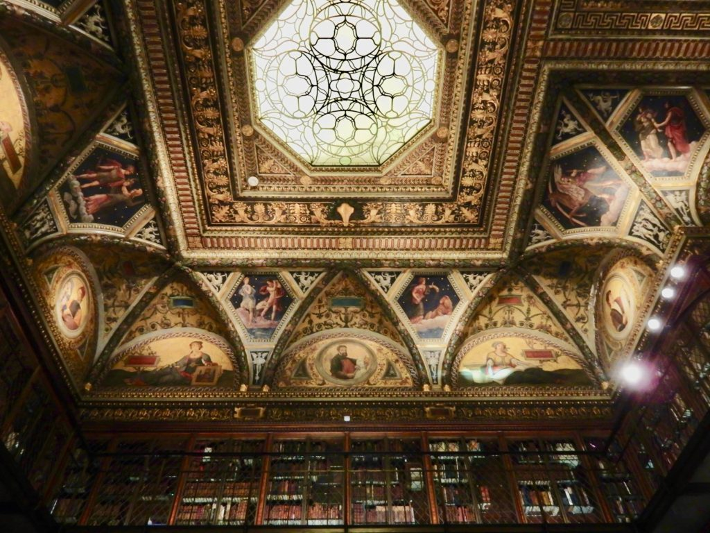 Morgan Library Ceiling NY
