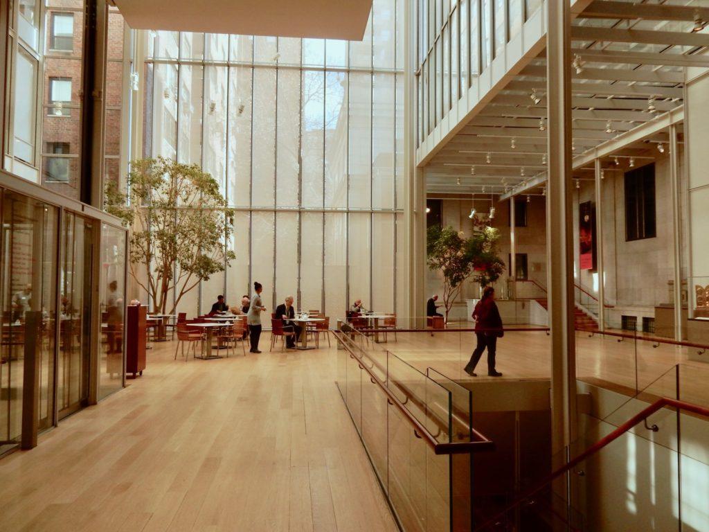 Morgan Library Museum Atrium NY