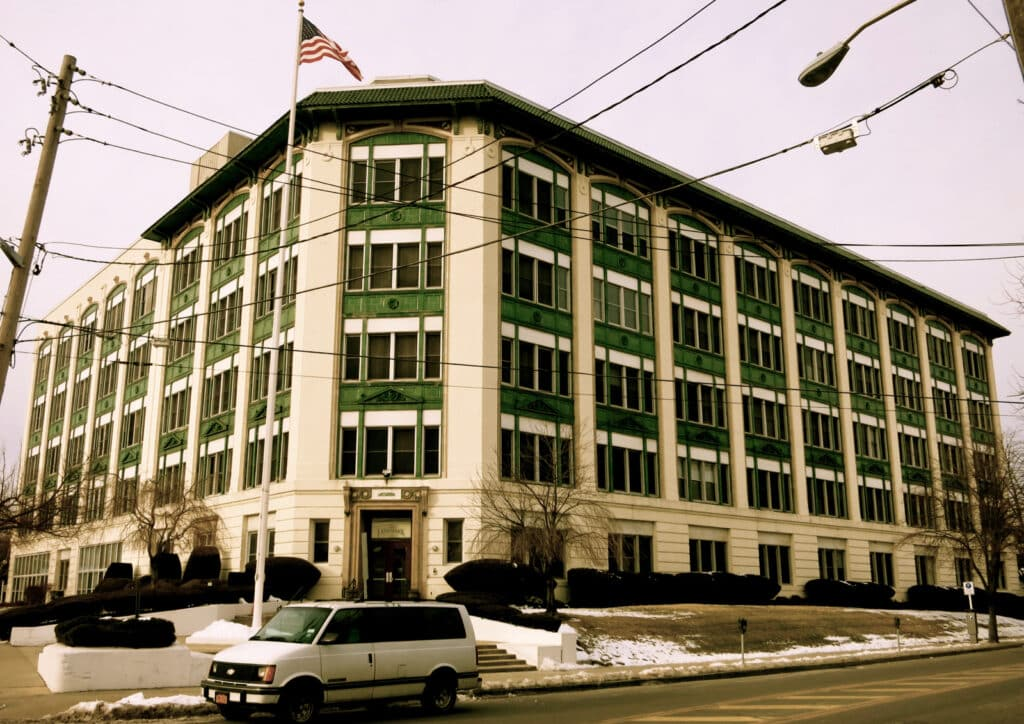 Old Lifesavers Factory Port Chester NY