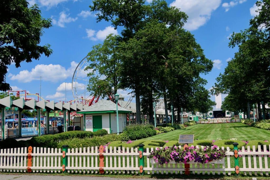 Rye Playland park-like grounds