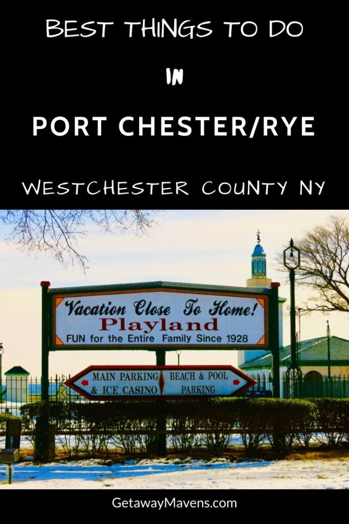 Port Chester Rye NY Pin