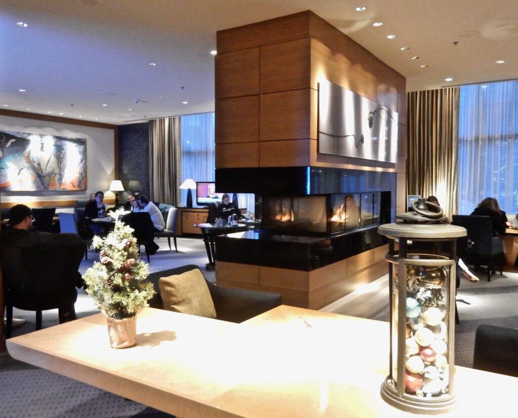 Ritz Carlton Westchester Lobby Fireplace White Plains NY