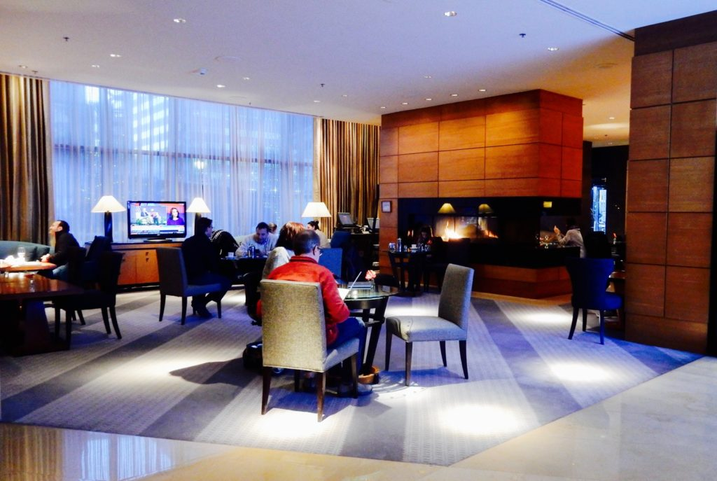 Ritz Carlton Westchester NY Lounge Lobby