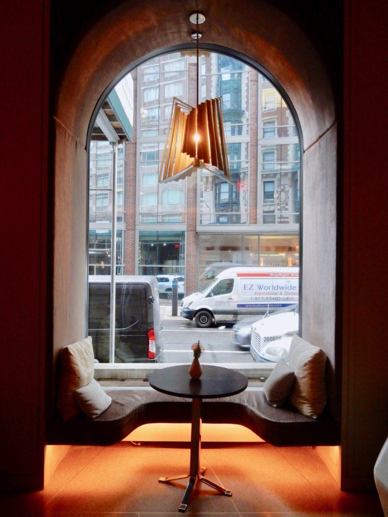 Window Nook James NoMad NY