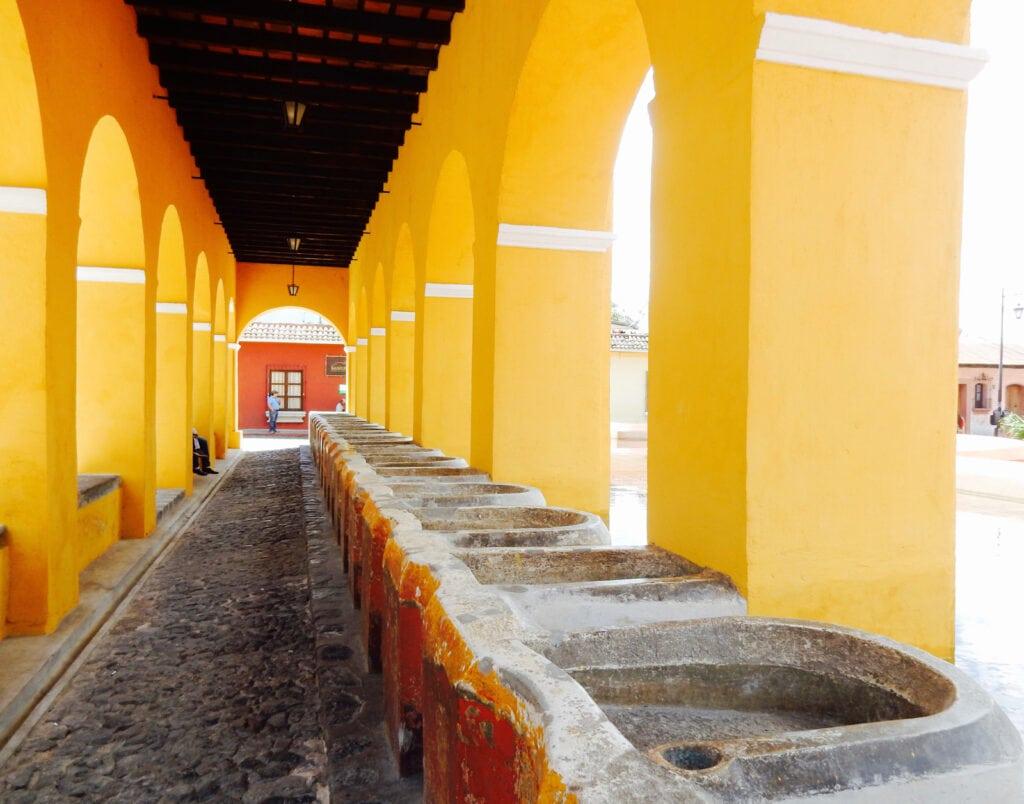 Clothes Washing Center Antigua Guatemala