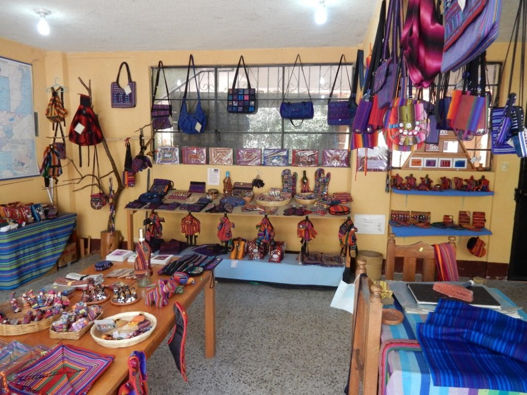 School craft collective, Santa Catarina Palopo Lake Atitlan Guatemala