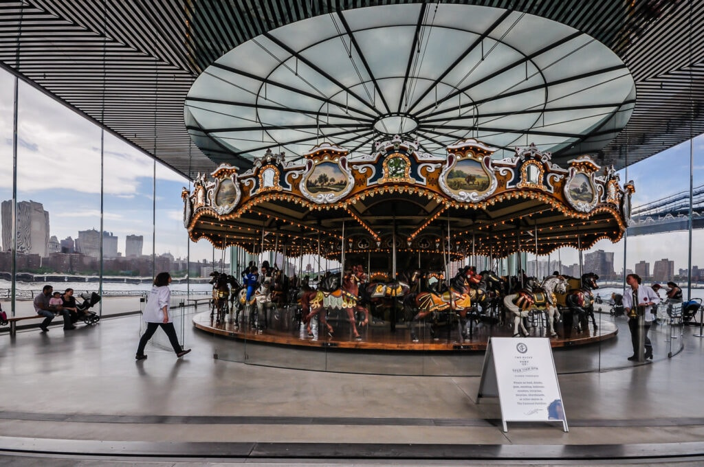 Jane's Carousel - historic carousel in Brooklyn