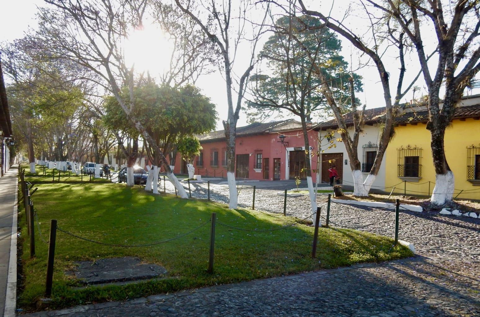 Residential street, Antigua Guatemala
