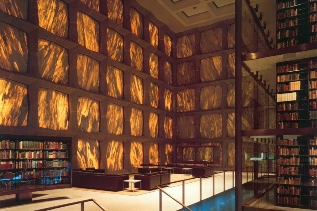 Beinecke Library, Yale Campus, New Haven CT