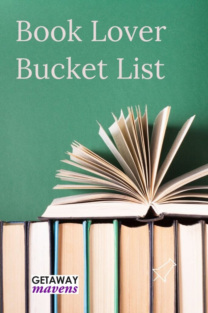 Book lover bucket list of literary spots in Northeast US.
