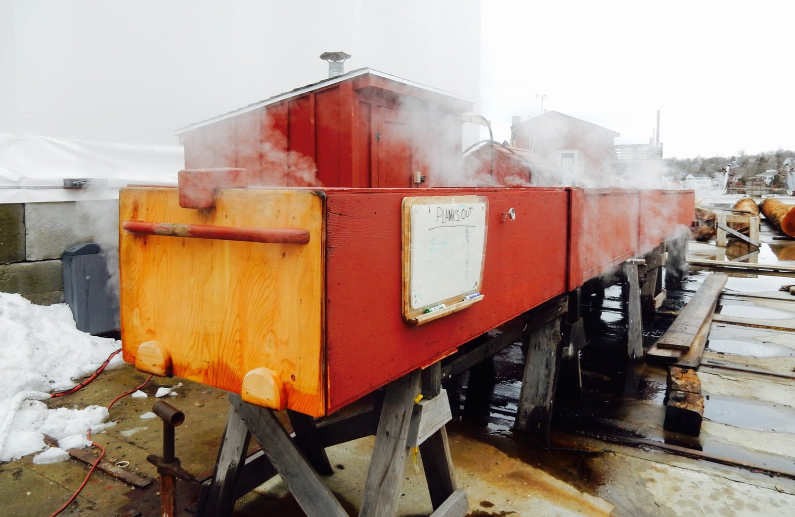 Steam Box, Mystic Seaport, Mystic CT