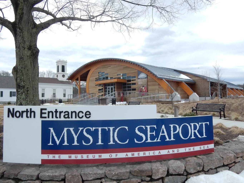 North Entrance Mystic Seaport CT