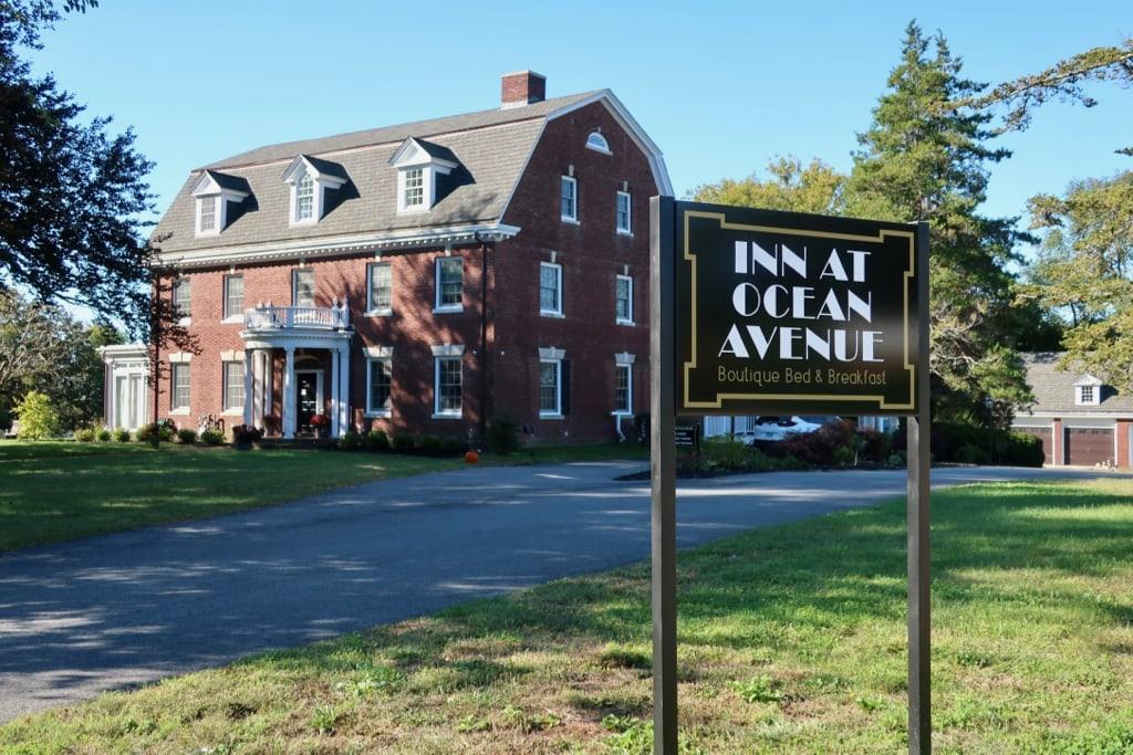 Inn at Ocean Avenue New London CT exterior