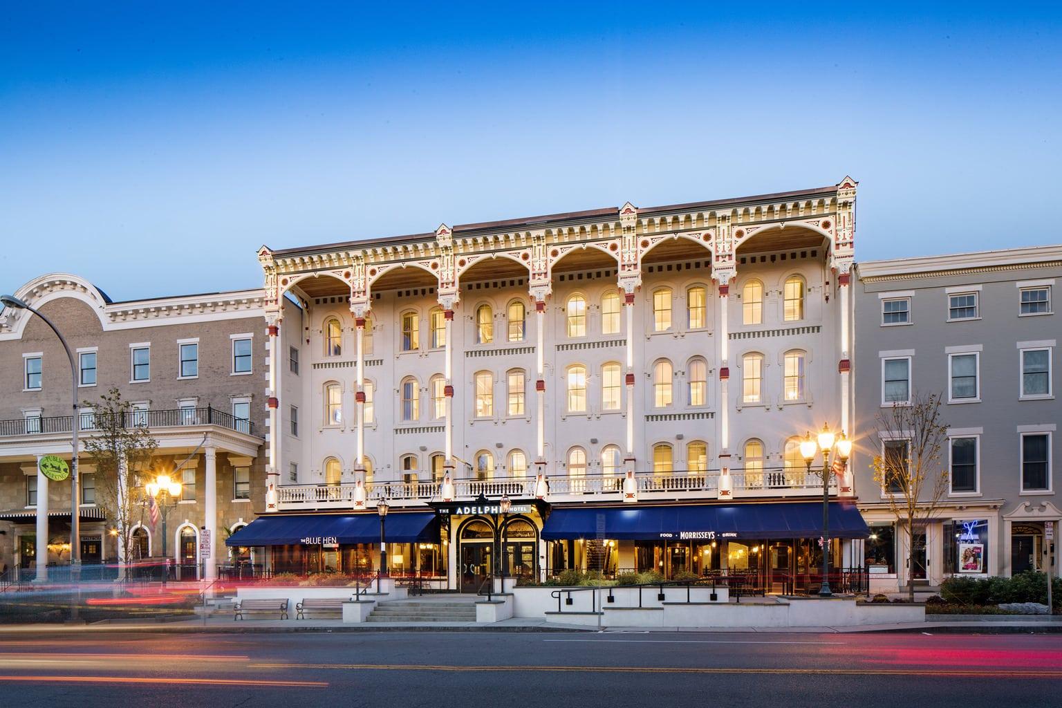 Adelphi Hotel, Saratoga Springs NY