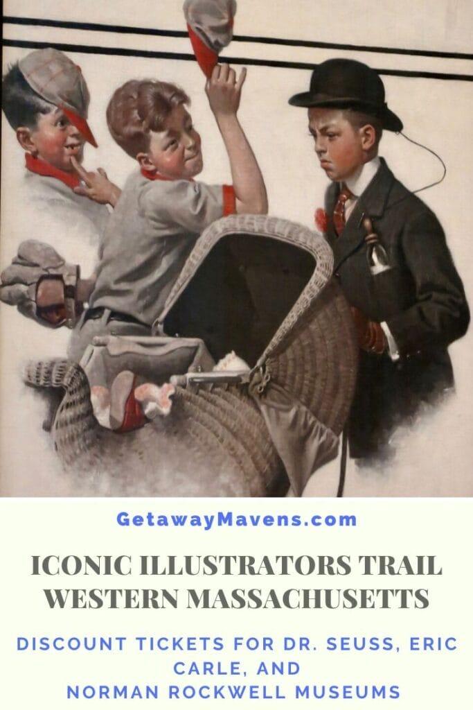 Iconic Illustrators Trail pin