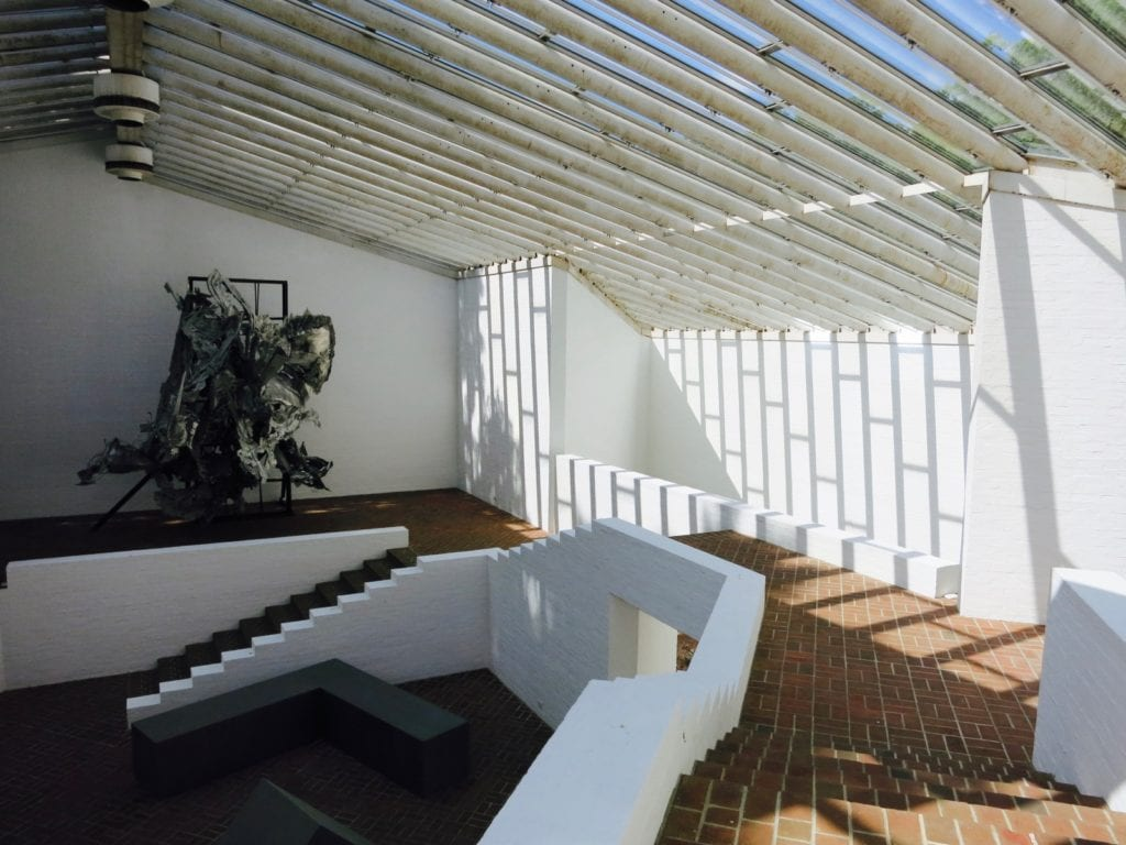 Sculpture Gallery on Glass House campus, New Canaan CT