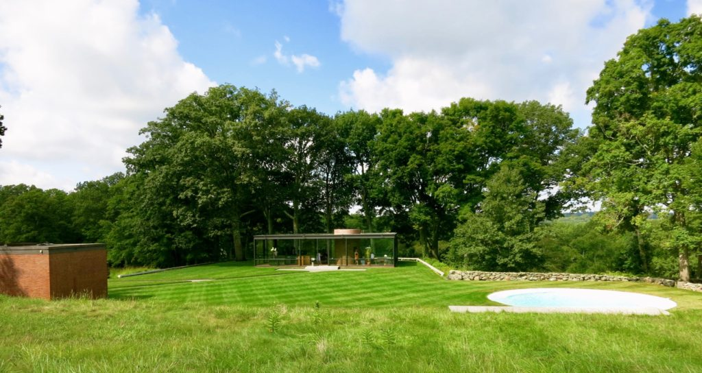 Philip Johnson's Glass House compound, New Canaan CT