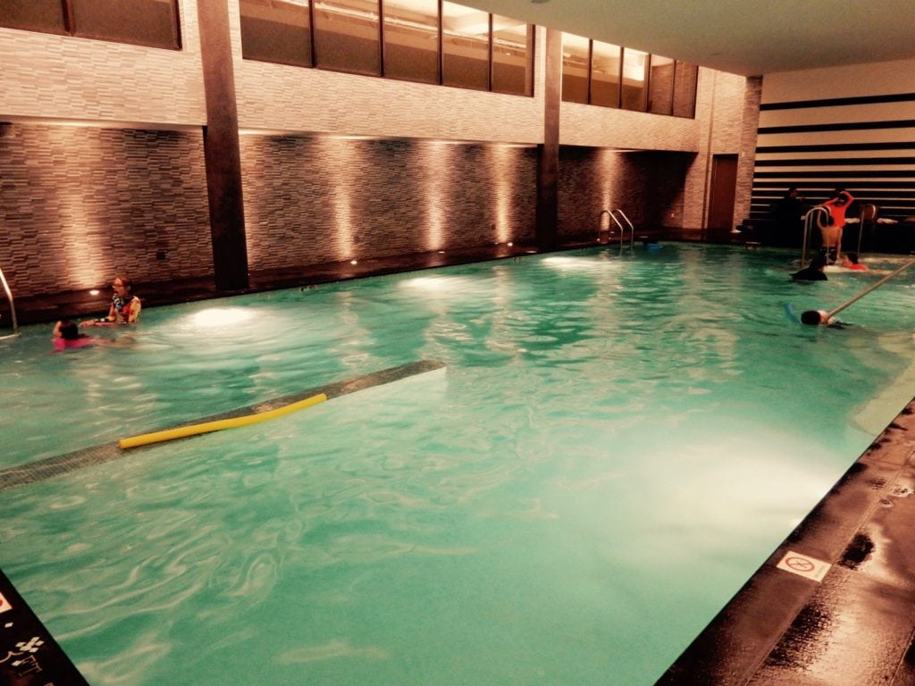 Indoor Pool Watergate Hotel DC